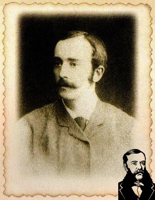 Кароль (Карл) Гуттен-Чапский. Фото из книги.