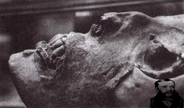 Мумия.Фото из книги