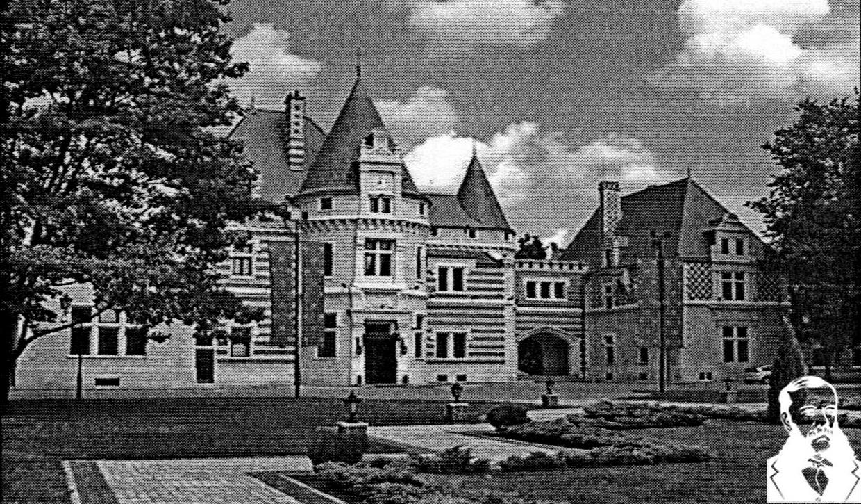 Замок баронов Мейендорф. Фото из книги.