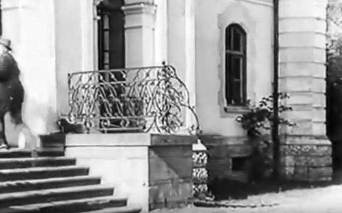 Кадр из фильма «Лесная быль», 1926 г. Реж: Юрий Тарич