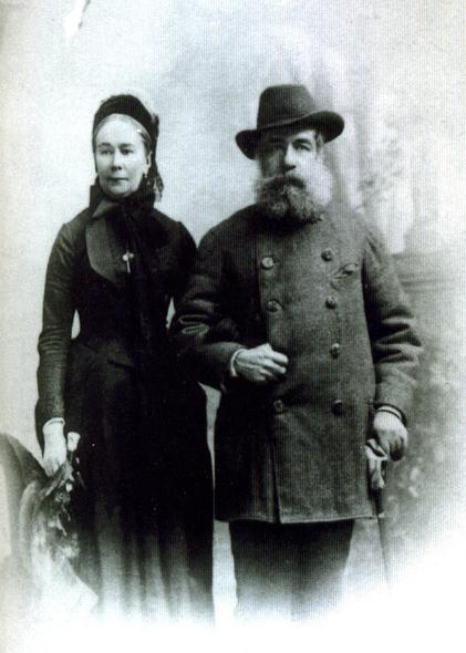 Елизавета-Каролина-Анна, баронесса фон Мейендорф вместе с Эмериком Гуттен-Чапским