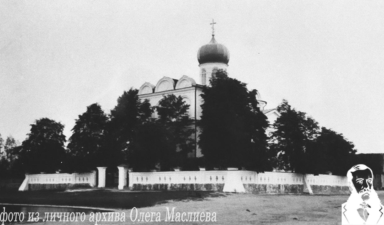 Приходская Николаевская церковь в Станьково начала ХХ века.