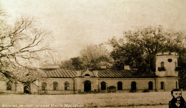 Дворец Чапских в Наруцевичах под Несвижем