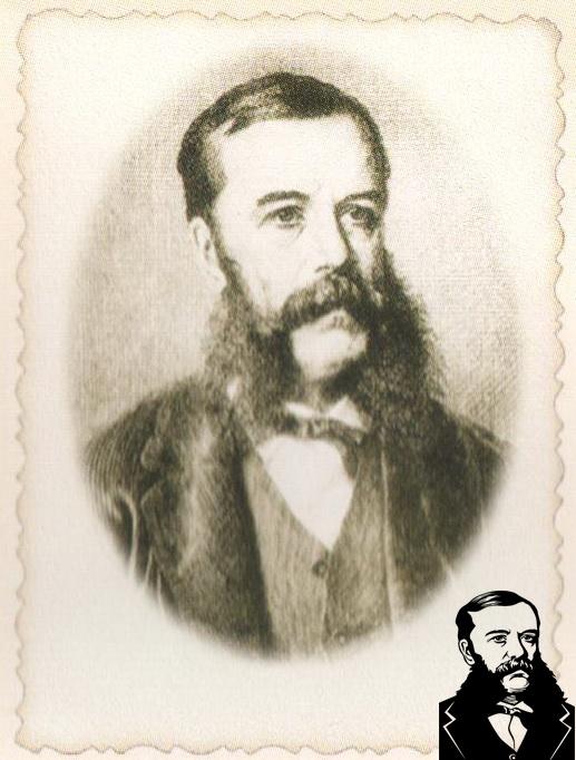 Граф Эмерик фон Гуттен-Чапский (1828 - 1896). Фото из книги.