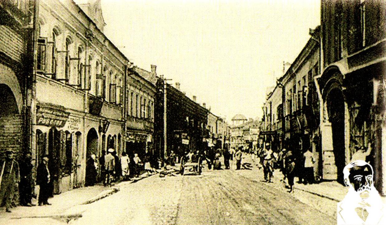 Немига, Минск начала XX века. Фото из книги.