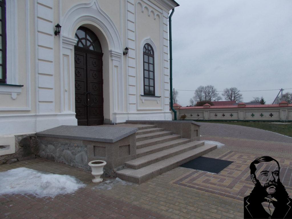Автор фото: О.И.Маслиев. 13.12.2018. Фото храма снаружи.