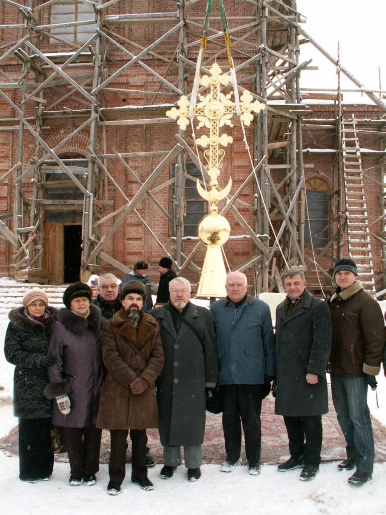 А.И.Валаханович с группой Народного объединения