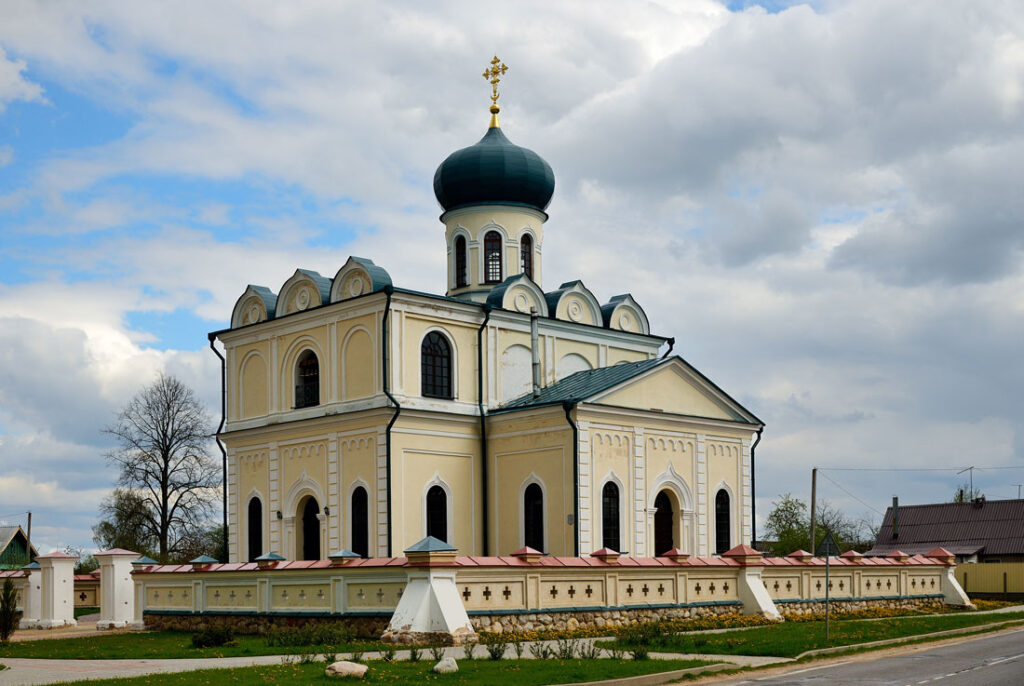 Храм после восстановительных работ
