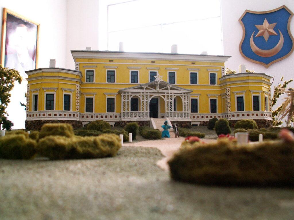 Макет дворца в Станьково. Автор макета: О.И.Маслиев.