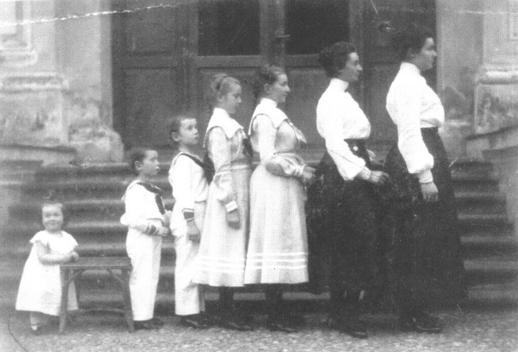Дети Юрия Гуттен-Чапского.